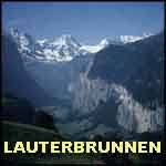 Switzerland Swiss Alps  Lauterbrunnen