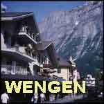 Switzerland Swiss Alps  Wengen