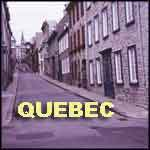 Quebec City Canada old town