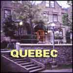 Quebec City Canada old hotel