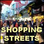 Istanbul shopping streets
