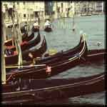 Venice travel video gondolas