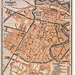 Free maps of Holland