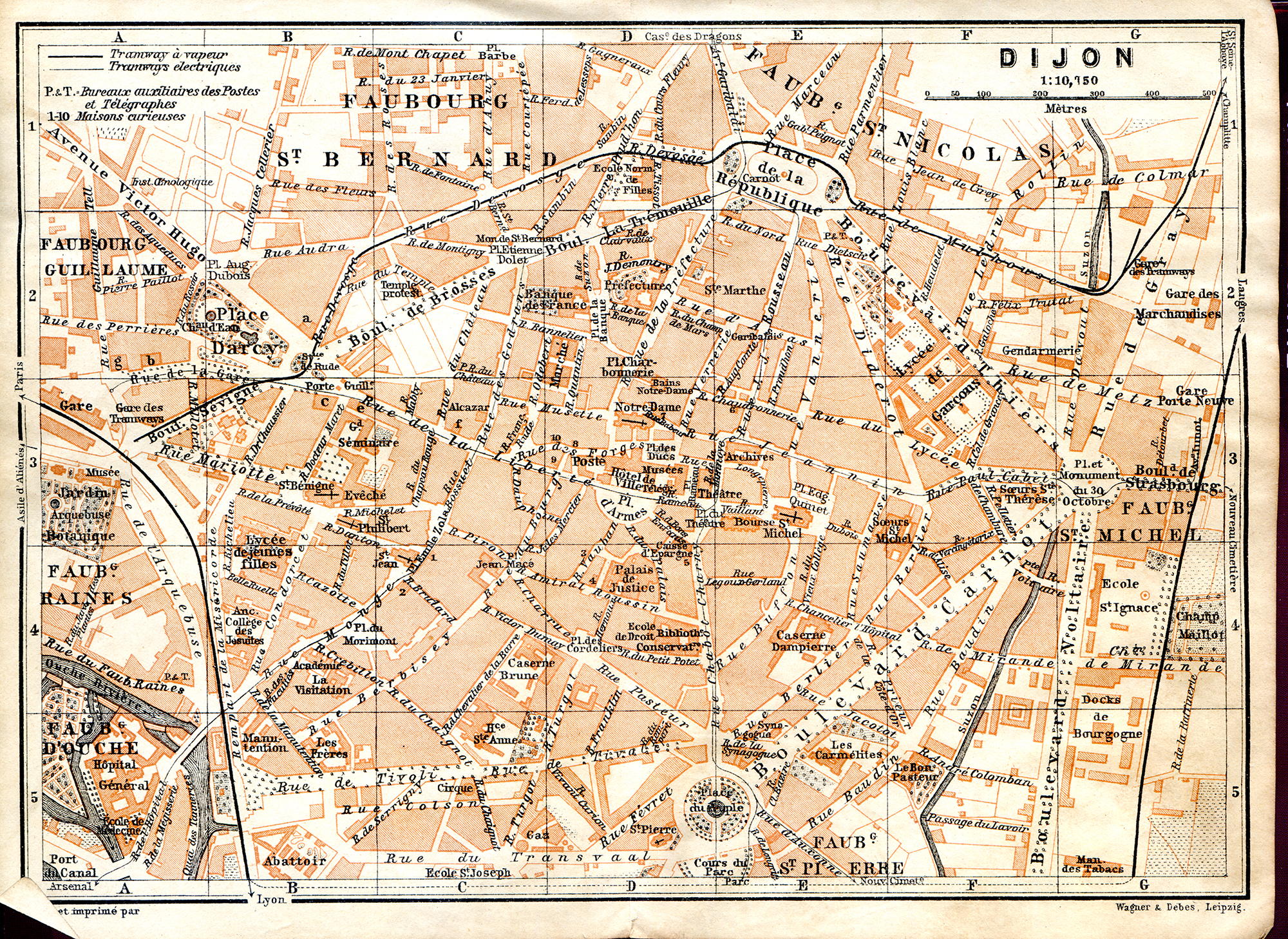 maps of Northern France