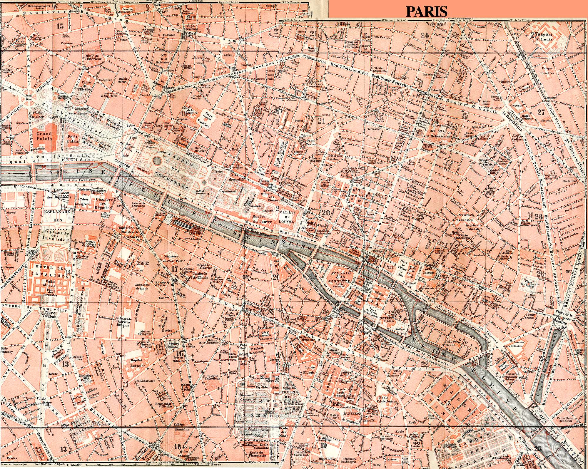 paris france map in public domain free royalty free royalty free