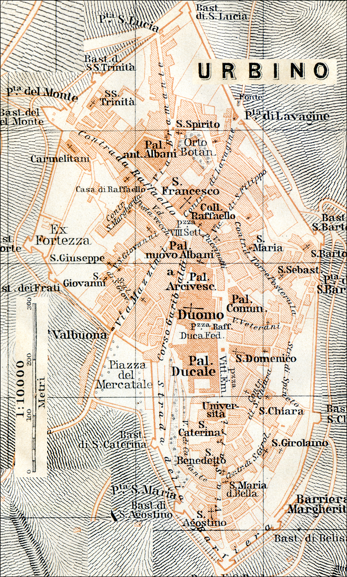 Free maps of Northern Italy