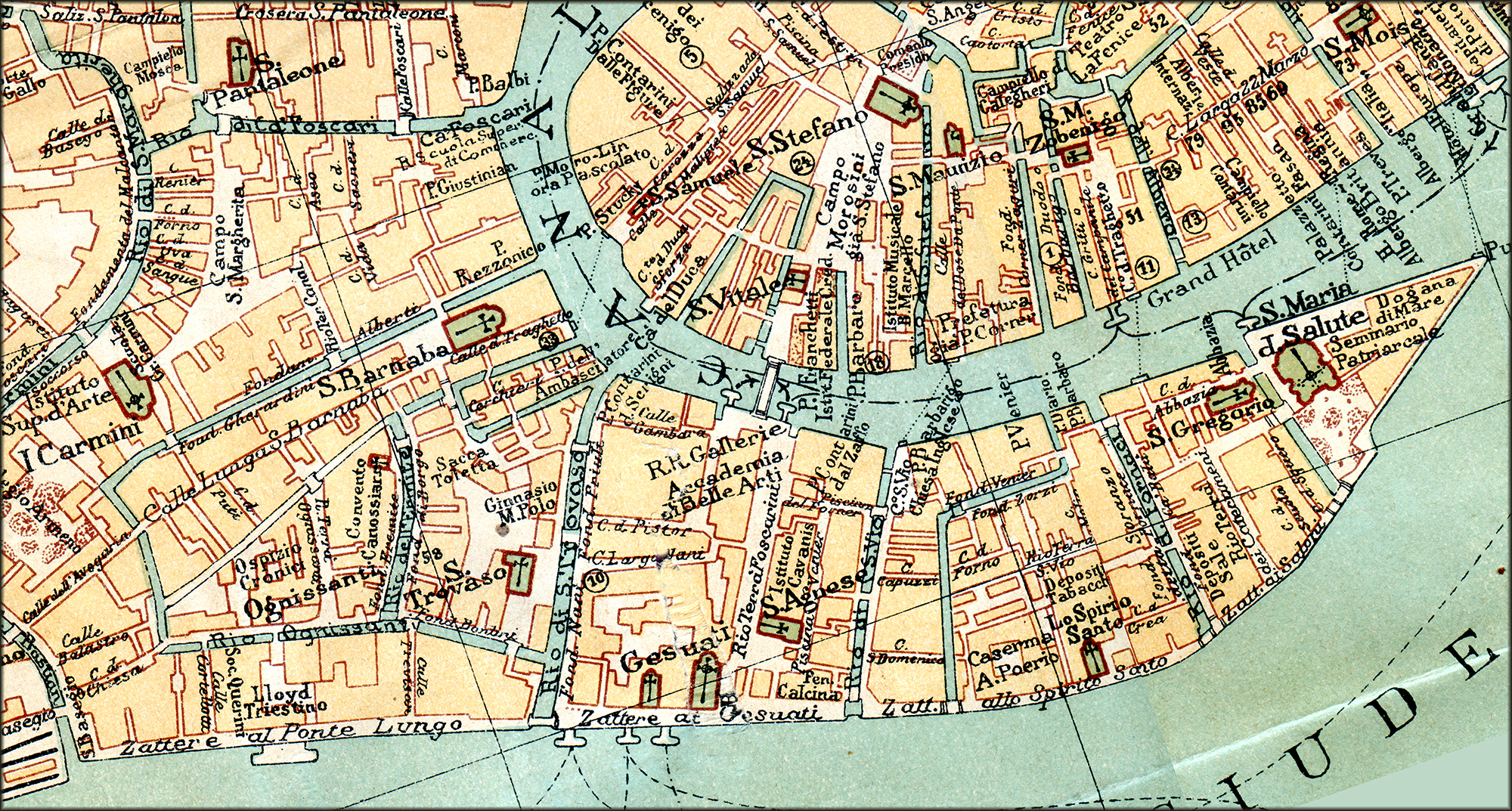 Free Maps Of Venice - Venice map image