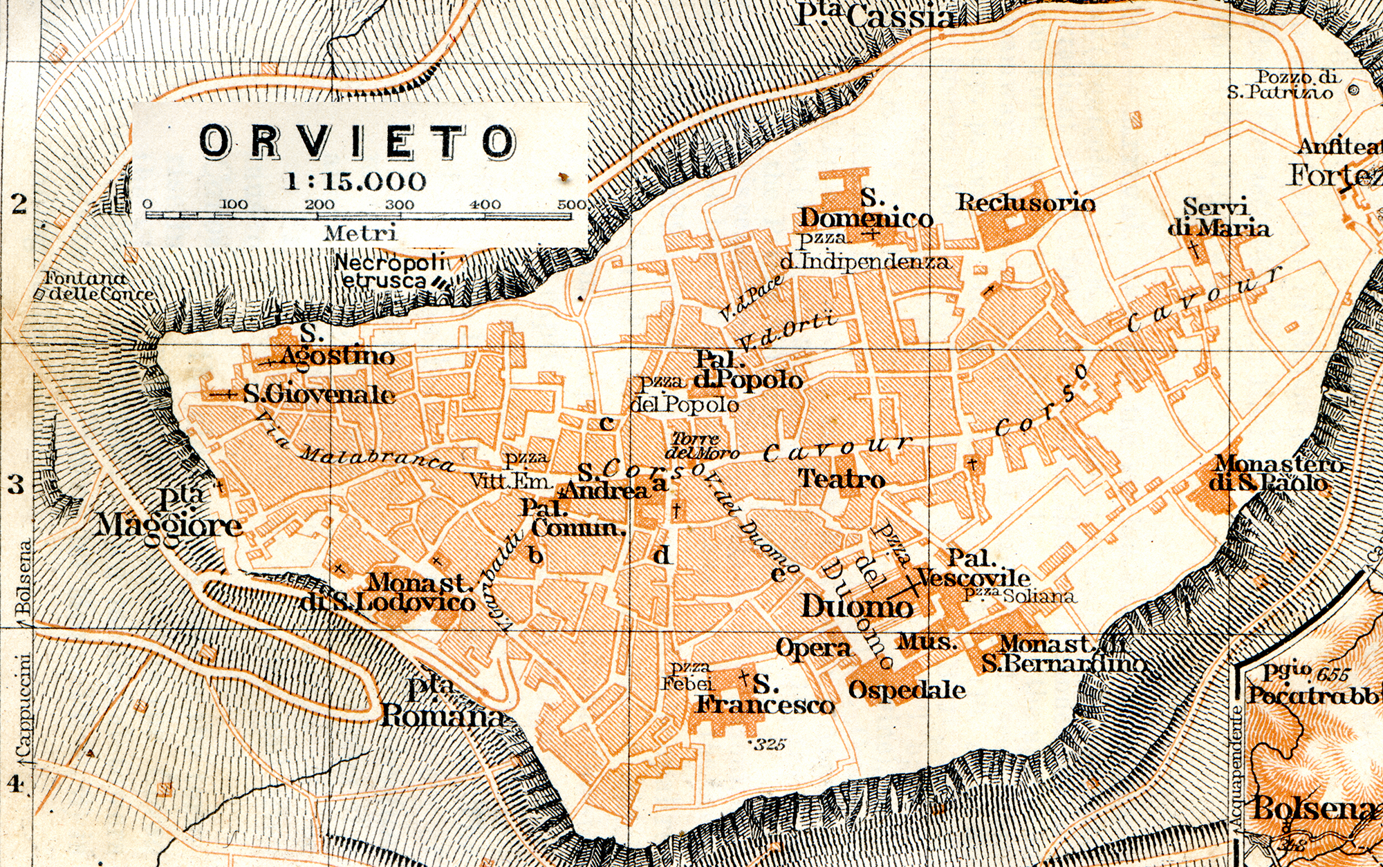 Free maps of Umbria Italy