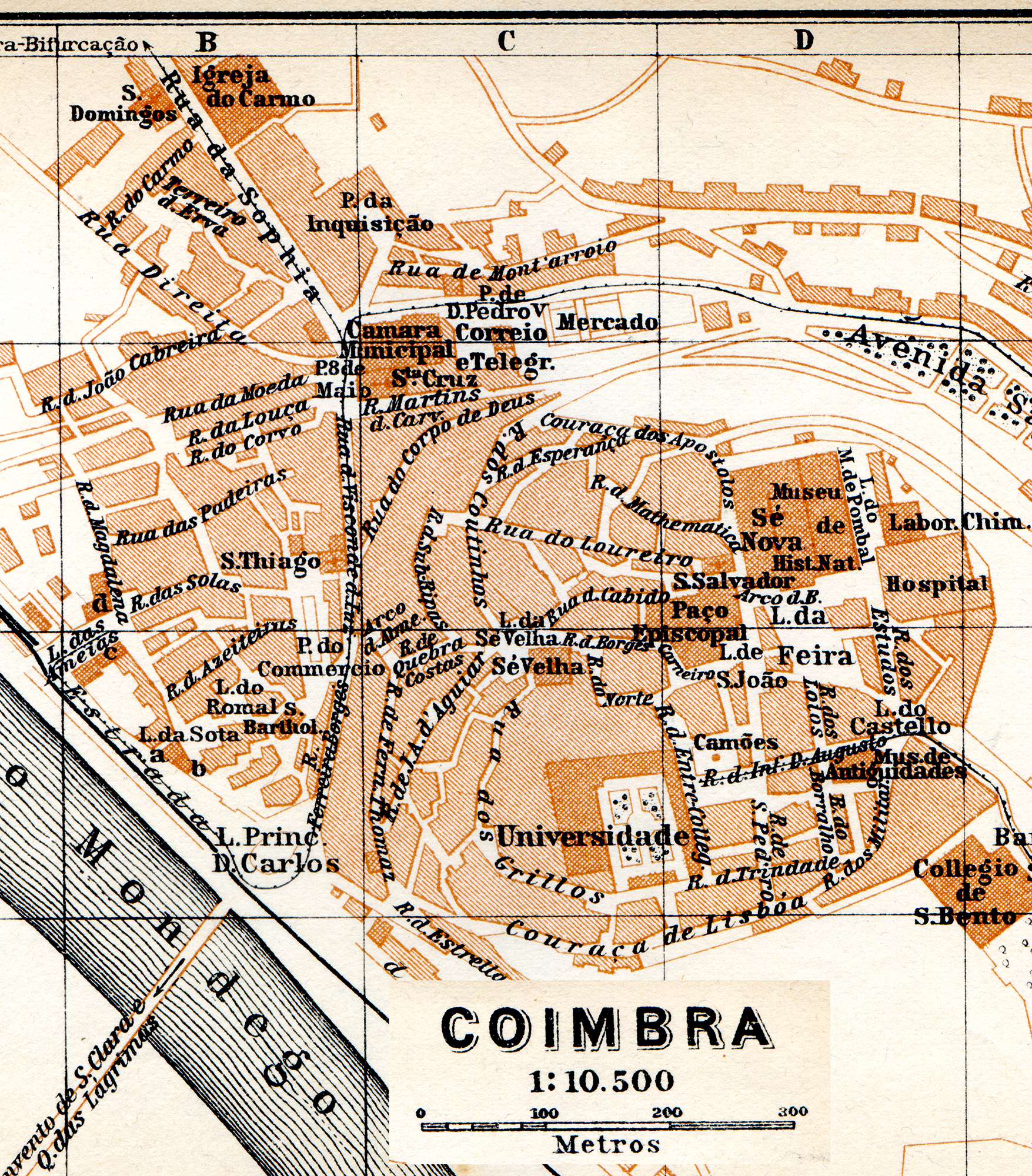 Free Maps Of Portugal - Portugal map coimbra