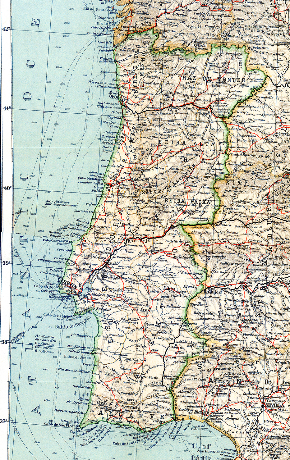 Free Maps Of Portugal - Portugal map