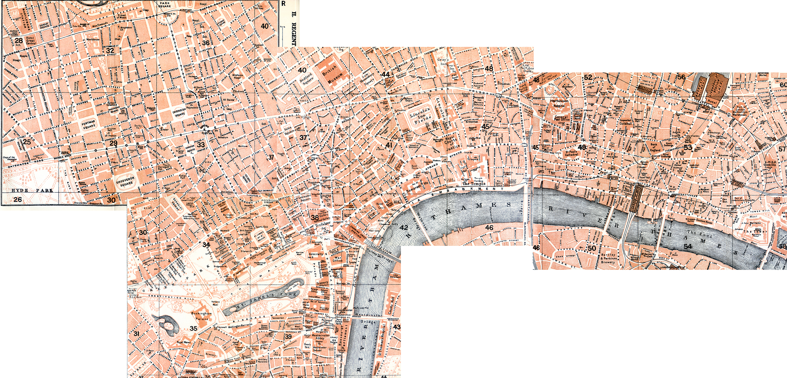 Free maps of London and England